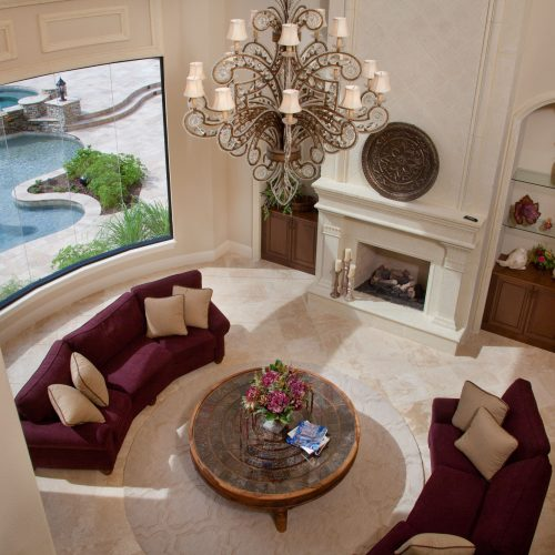 custom home interior by Beck Custom Homes